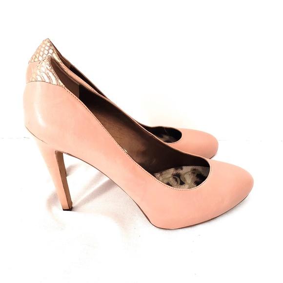 334b9e2ebbdf94 Sam Edelman Yasmine Nude Pink Pumps Heels Size 11.  M 5bfc96d60cb5aa90651074a5